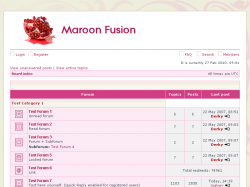 Maroon Fusion